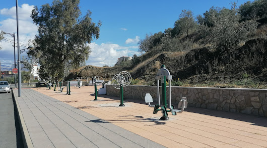 Abla estrena nuevo parque biosaludable