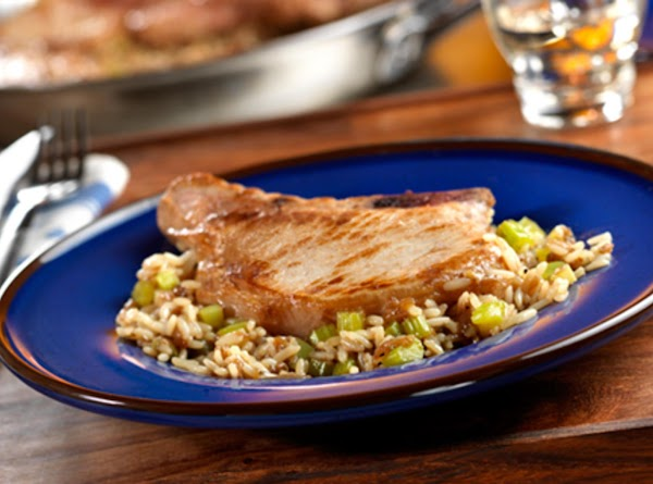 Pork Chops & French Onion Rice Surprise, By Freda Recipe