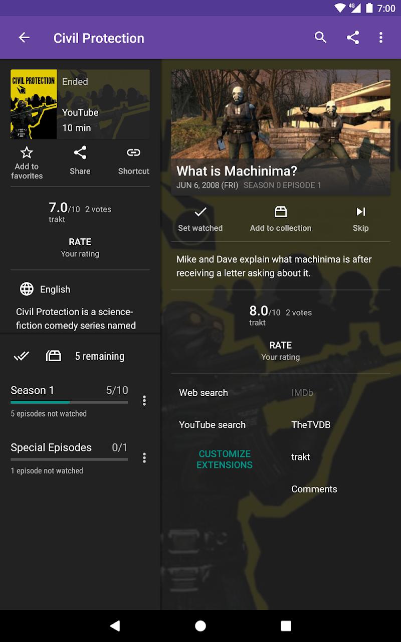 SeriesGuide – Show & Movie Manager Screenshot 9
