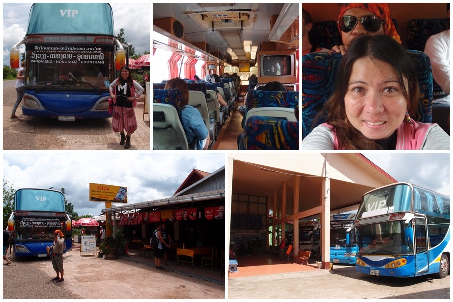 Journey to Vang Vieng from Vientiane!