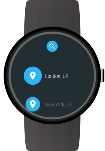 Weather for Wear OS (Android Wear)  screenshots 6