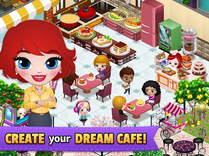ApkMod1.Com Cafeland - World Kitchen + (Unlimited Money) for Android Game Simulation