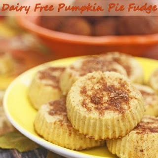 Dairy Free Pumpkin Pie Fudge