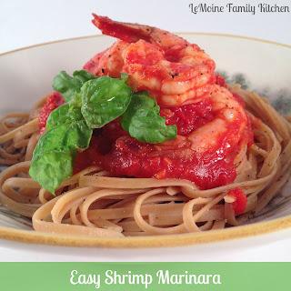 Easy Shrimp Marinara.