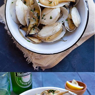 Garlic Butter Clams In The Shell Recipes