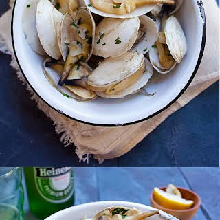 Garlic Butter Steamers (Soft Shell Clams).