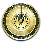 Captain's Log Clock Widgets icon