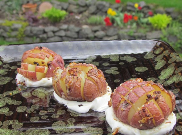 Bloomin' Baby Red Potatoes Recipe