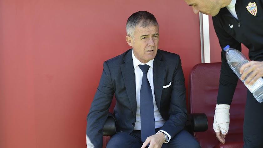 Lucas cumple su partido 20 en el Almería