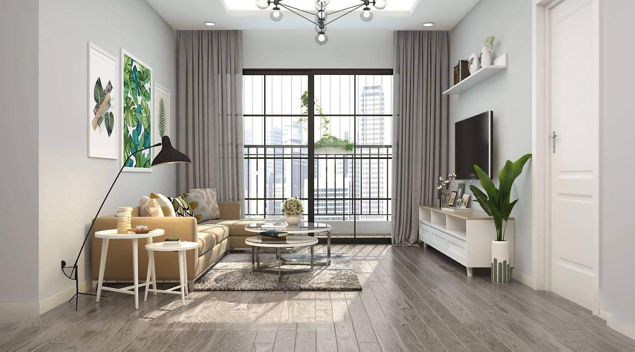 Phong cách thiết kế hiện đại chú trọng tới tone màu, bài trí nội thất đơn giản nhưng khoa học và đề cao tính tiện dụng