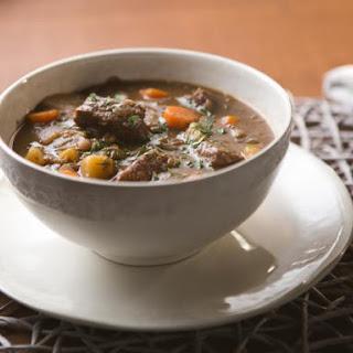 Slow Cooker Lentil-Beef Stew.