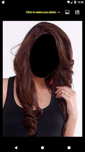 Women Hairstyle Face Changer 4.0 screenshots 1
