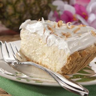 Tropical Cream Cheese Pie.