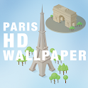 HD Paris Wallpaper Background icon
