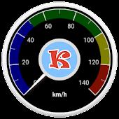 Tachometer, einfach, mit HUD