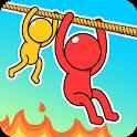 Rope Puzzle: Stickman Rescue icon