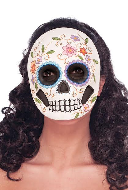 Day of the dead, ansiktsmask