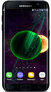Gyro VFX Planets  3D Live Wallpaper Screenshot