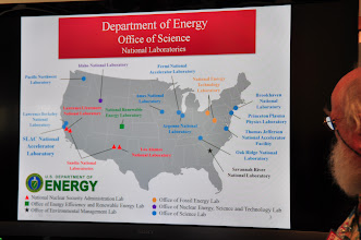 Photo: Map of DoE Labs