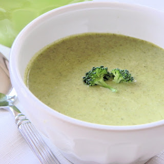 Silky Smooth Cream of Broccoli Soup