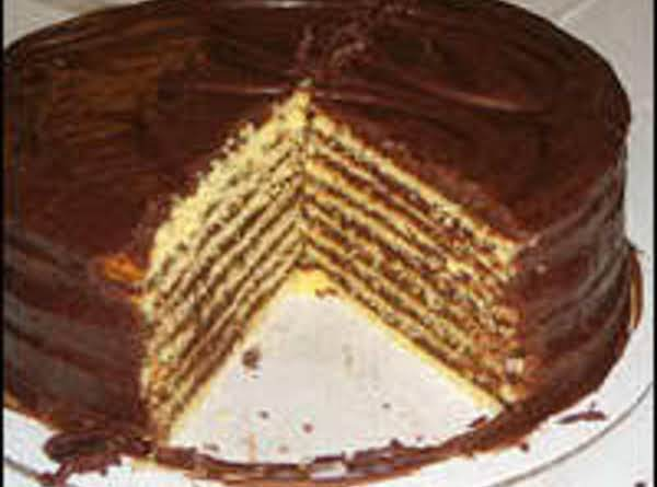 Barbara's 10-layer Chocolate Cake - Dee Dee's Recipe