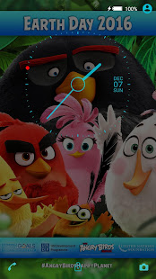 XPERIA™ Angry Birds Happy Planet Theme