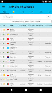 Live Tennis Rankings / LTR MOD (Unlocked) 4