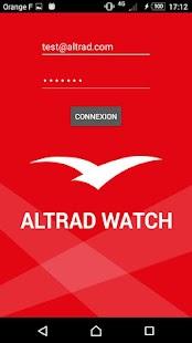 AltradWatch - náhled