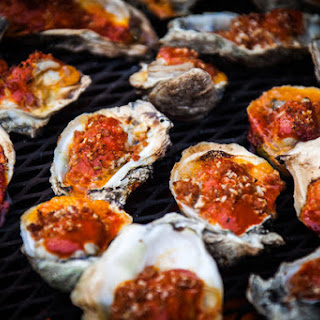 Fire-Roasted Oysters Serves 20