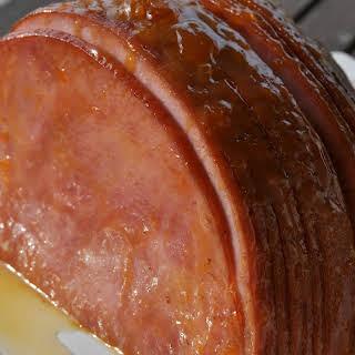 5-ingredient Apricot Glazed Ham.