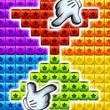 Toys Cubes Blast: Collapse Logic Puzzles Block Pop icon