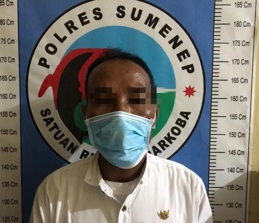 Terlibat Pesta Narkotika, Oknum LSM Sumenep K.O Ditangan Satresnarkoba Polres Sumenep