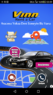 Vınn Rent A Car- screenshot thumbnail