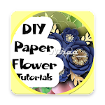 Paper Flower Guide DIY Craft Tutorial icon