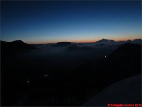 Photo: IMG_2222 il sole ancora giu