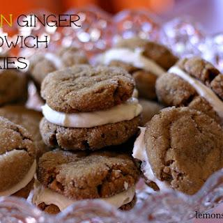 Lemon Ginger Sandwich Cookies