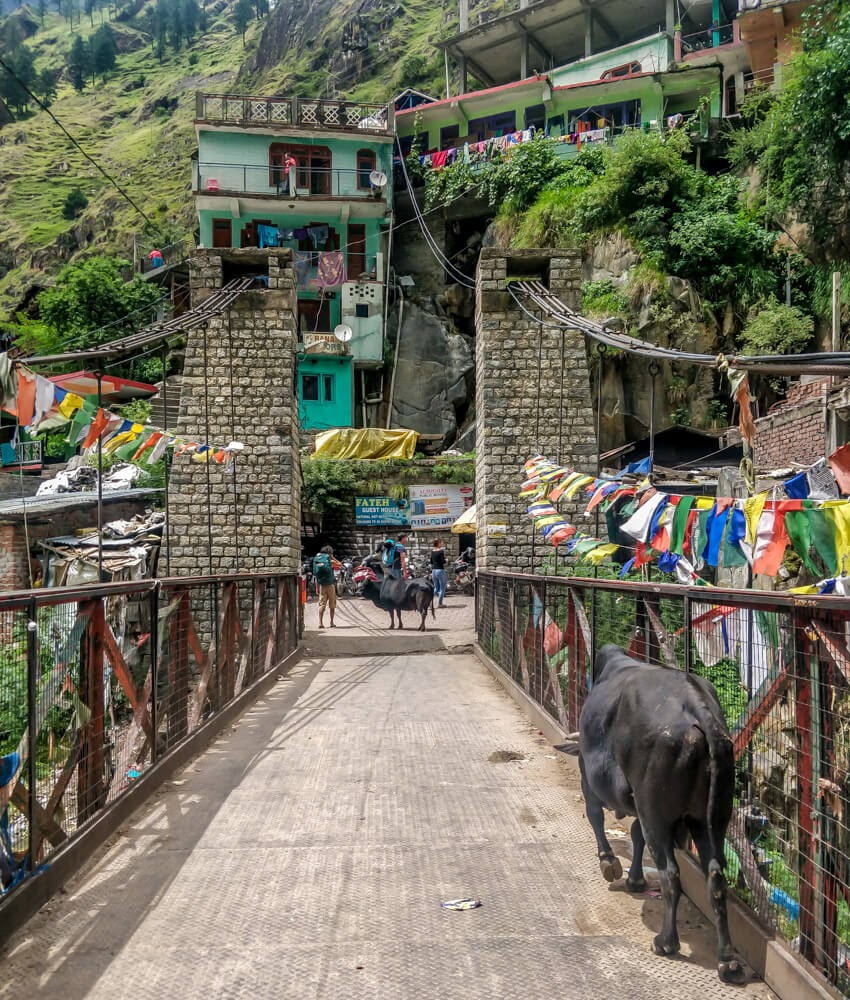 bridge+manikaran+kullu+parvati+valley+himachal+pradesh