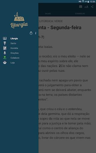 Liturgia Diária - Canção Nova 3.0.2 screenshots 10