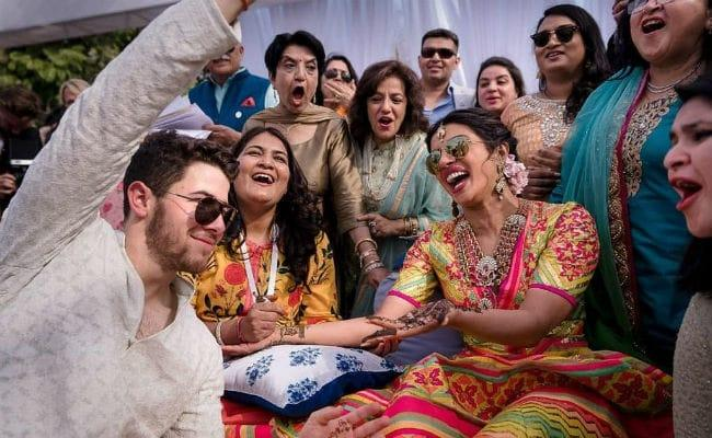Image result for priyanka and nicks wedding family photos