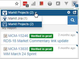 JIRA Chrome Extension