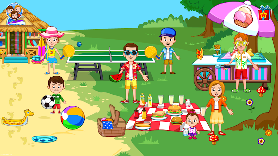 My Town : Beach Picnic Screenshot