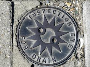 Photo: Inspection eye drain