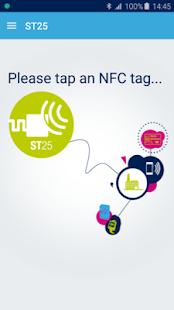 ST25 NFC Tap - náhled