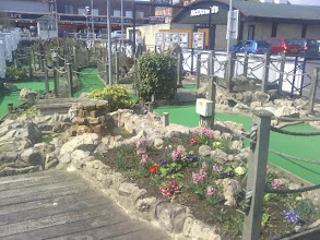 Photo: A nicely situated crazy golf course up at Bottons pleasure beach on the prom.