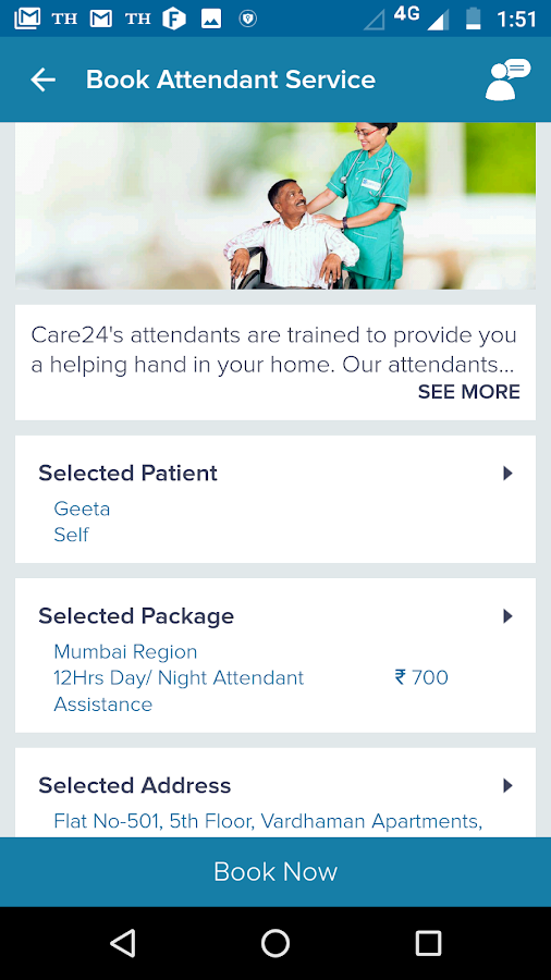 Care24- screenshot
