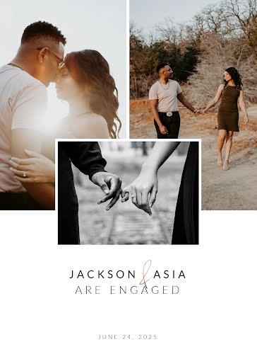 Jackson and Asia - Wedding Template
