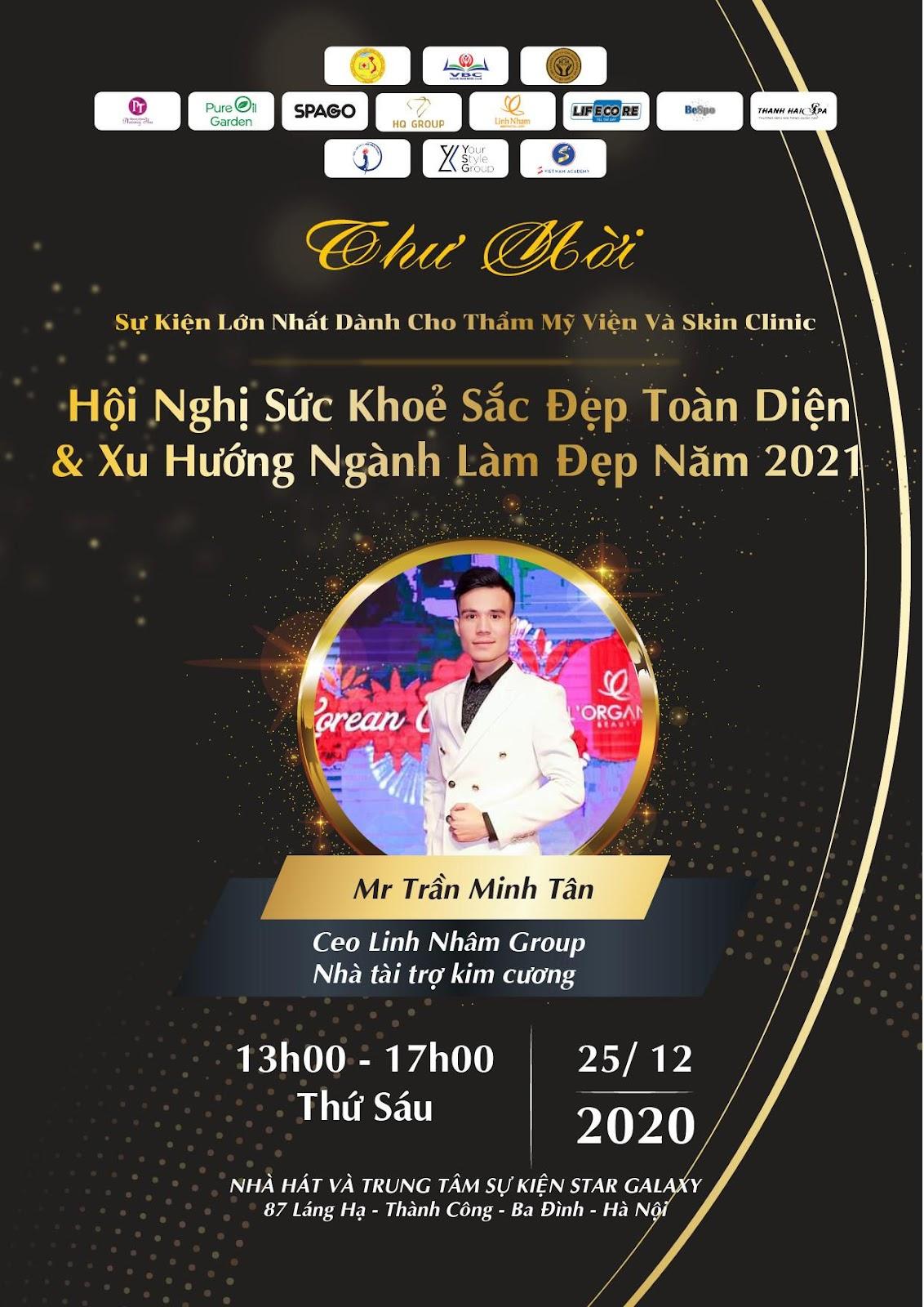 Linh Nham Group – Nhà tài trợ Kim cương tại Hội nghị sức khỏe sắc đẹp toàn diện và xu hướng ngành làm đẹp 2021 - Ảnh 7