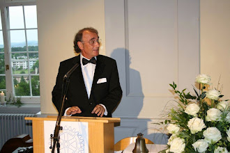 Photo: Dr. Klaus Diegritz, President of the Rotary Club of  Eberbach, Germany- 12 June 2010 in Muri, Switzerland