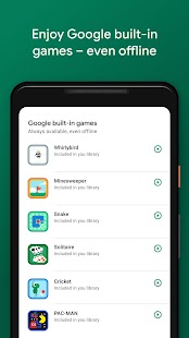 Google Play Juegos Screenshot