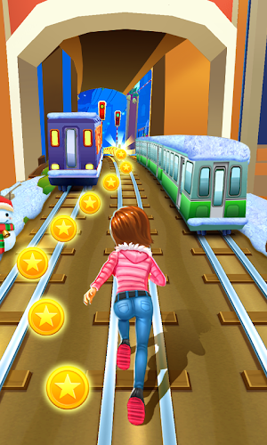 Subway Princess Runner Android App Screenshot